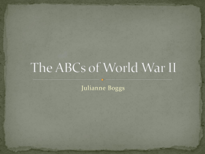 WWII ABC Book