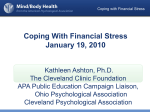 Coping with Financial Stress - Ohio Psychological Association