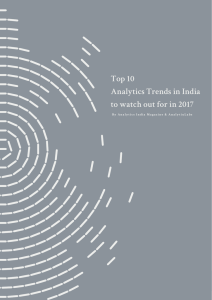 Top 10 Analytics Trends in India to watch out for in 2017