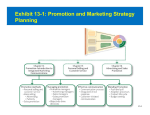 Exhibit 13-1: Promotion and Marketing Strategy Planning