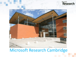 Keynote Address - Microsoft Research Cambridge2.32 Mb