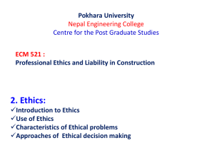 Ethics - WordPress.com