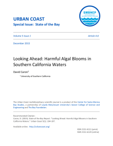 Harmful Algal Blooms in Southern Californian Waters
