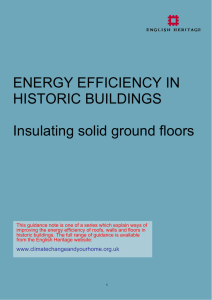 Insulating solid-ground floors