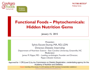 Functional Foods – What`s the Real Deal?