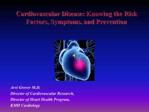 Introduction to the Heart Health Program