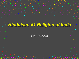 Hinduism: #1 Religion of India