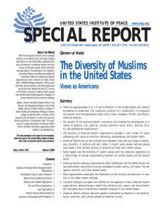 The Diversity of Muslims in the United States