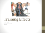 Training Effects