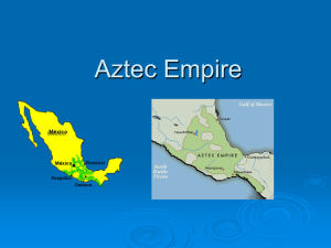 Aztec Empire PPT