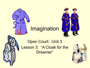 A Cloak for the Dreamer (2002) Days 1-5