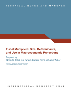 Size, Determinants, and Use in Macroeconomic Projections