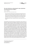 The role of television in cultivating the values of pluralism and