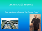 America Builds an Empire - Mrs. Bass` US History Class