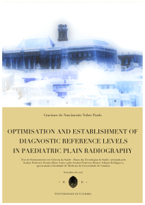 optimisation and establishment of diagnostic