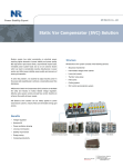 Static Var Compensator (SVC) Solution