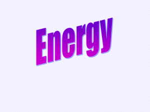 Intro to Energy - DuVall School News