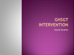 ghsgt intervention - gocsstestintervention