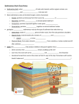 Sedimentary Rock Cloze Notes