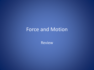 Force and Motion Football Game
