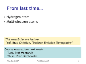 Neutrons and Protons