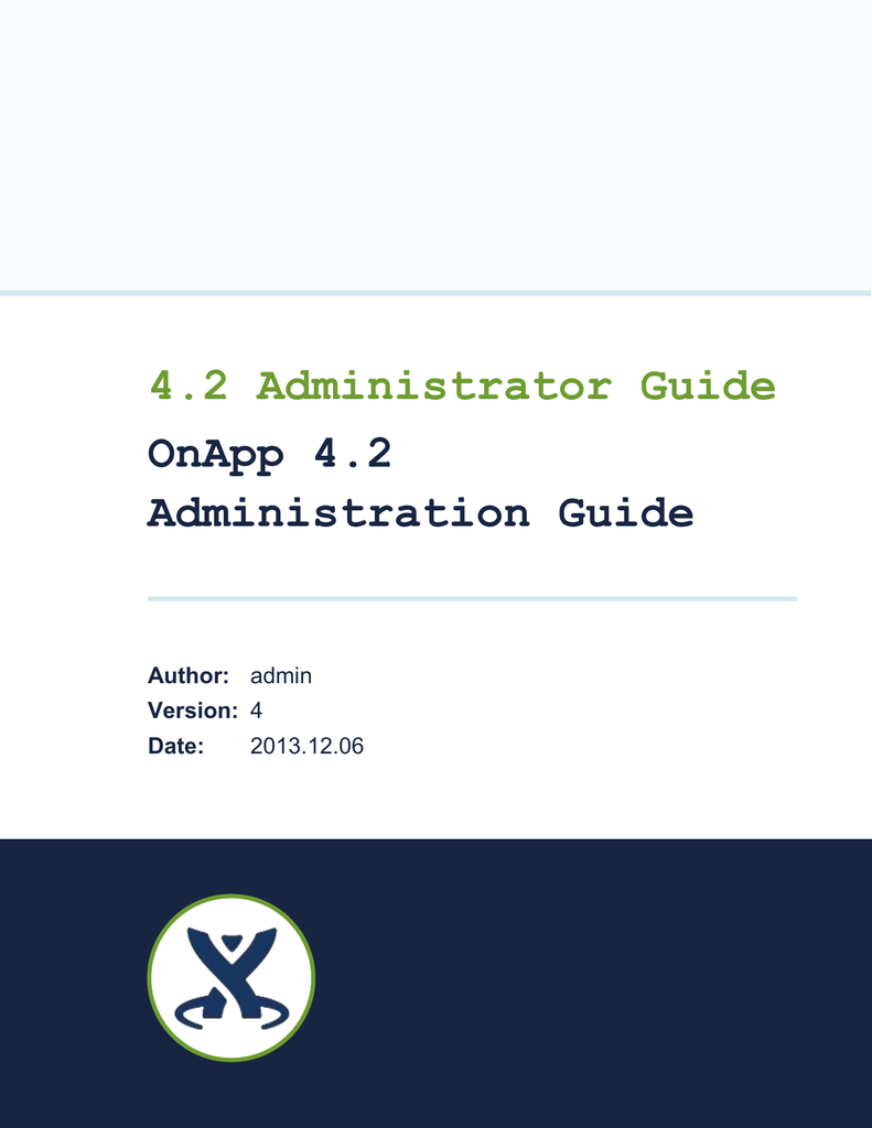 OnApp 4 2 Administration Guide
