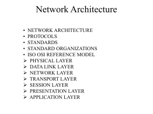 Network Architecture - Electrical Engineering and Computer Science