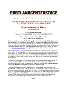 Somewhere in Time - Portland Center Stage