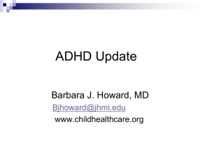 ADHD Update - LifeBridge Health