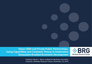 Vision 2030 and Private Public Partnerships