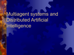 Distributed Intelligence and Artificial Life
