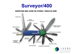 Surveyor/400 - Linoma Software