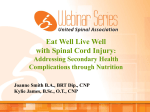 View Webinar PPT - National Spinal Cord Injury Association