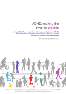 ADHD: making the invisible visible
