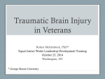 Signs and Symptoms of PTSD and TBI in Veterans