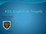 KS1-English at Tregolls
