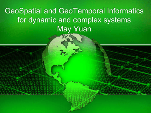 Yuan - GeoSpatial and GeoTemporal Informatics