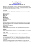 7th Grade Social Studies Course Syllabus for 2oo8-2oo9