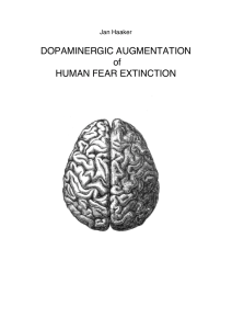 DOPAMINERGIC AUGMENTATION of HUMAN FEAR EXTINCTION