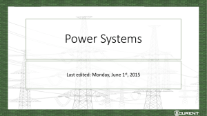 Major Power Grid Components