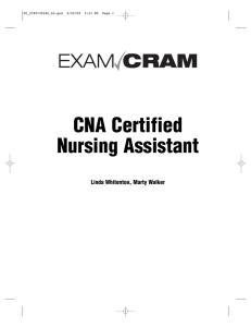 CNA Certified Nursing Assistant