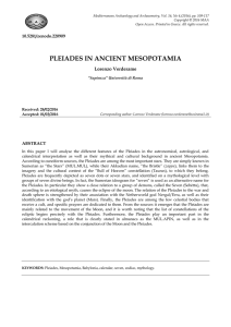 FullText - Mediterranean Archaeology and Archaeometry