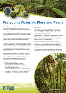 Protecting Victoria`s Flora and Fauna