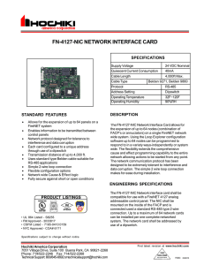 fn-4127-nic network interface card