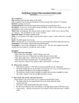 Earth/Space Science Final Assessment Study Guide