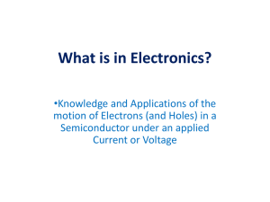 What is Electronics?