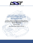 LSST Network Operations and Management Plan