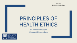 Theories of Health Education