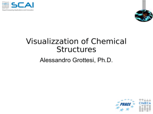 Visualizzation of Chemical Structures - HPC
