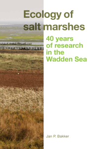 Ecology of salt marshes